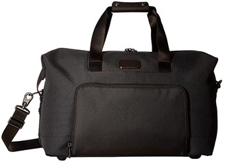 Tumi Alpha 3 Double Expansion Travel Satchel (Anthracite) Luggage