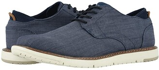 Toms Navi Oxford (Navy Denim) Men's Shoes