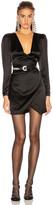GRLFRND Nik Shirt Dress in Black | FWRD