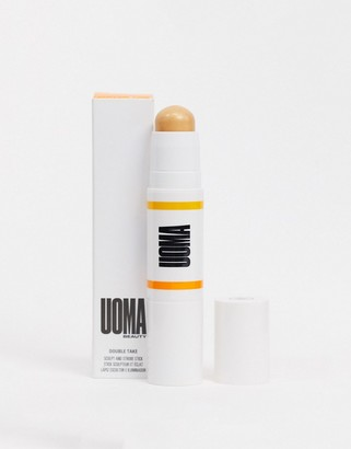 Uoma Beauty Double Take Sculpt and Strobe Stick - Brown Sugar