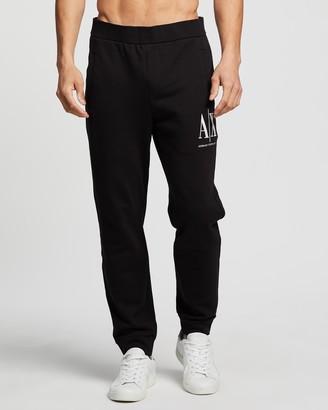 Armani Exchange Embroidered Track Pants