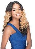 "JLO by Jennifer Lopez RIPPLE DEEP (14"" , T1B/BG) - Sensationnel Live Brazilian Keratin Human Remi Hair"