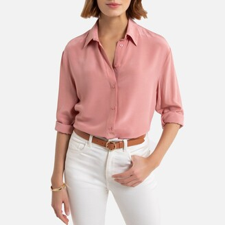 La Redoute Collections Fluid Shirt with Long Sleeves