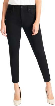 KUT from the Kloth Donna High Waist Ponte Ankle Skinny Pants