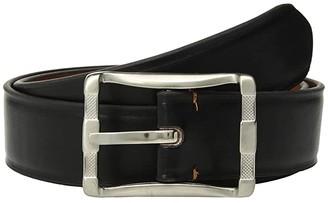 Stacy Adams 40 mm Fairmount Reversible Belt (Black/Cognac) Men's Belts