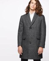 Italian Wool Alpaca Blend Epsom Coat
