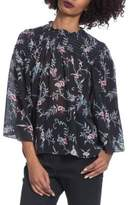 Plenty by Tracy Reese Three-Quarter Bell Sleeve Top