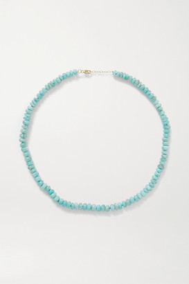 JIA JIA Gold Amazonite Necklace - Turquoise