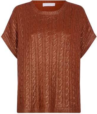 Fabiana Filippi Cashmere Cable-Knit Sweater