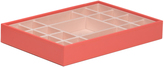 Wolf Medium Standard Stackable Tray, Coral
