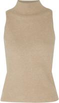 Milly Stretch-knit turtleneck sweater