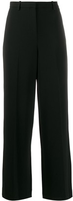 Theory high-waisted wide trousers