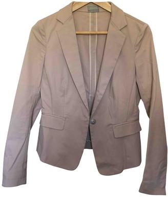 Mantu Beige Cotton Jacket for Women