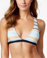 MICHAEL Michael Kors Abby Striped Halter Bikini Top