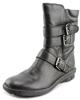 Khrio Reassise Round Toe Leather Boot.