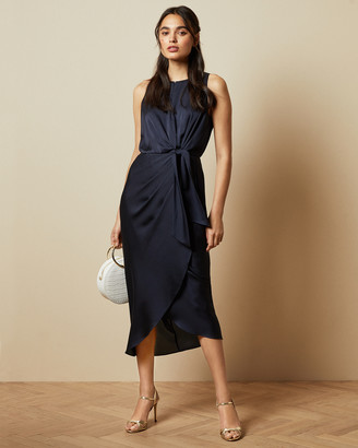 Ted Baker POHSHAN Keyhole detail midi dress