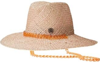 Maison Michel Kate woven fedora hat