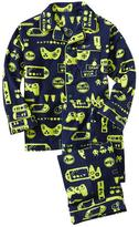 Gap Printed fleece classic PJ set