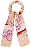 Marc by Marc Jacobs Floral Printed Scarf