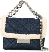 Stella McCartney tiny 'Beckett' tote - women - Polyester/Wool/metal - One Size