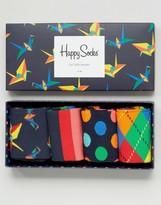 Happy Socks Happysocks Gift Set 4 Pack Socks