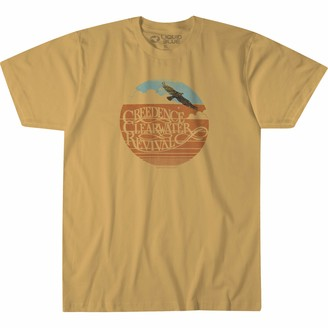 Liquid Blue Creedence Clearwater Revival Green River T-Shirt