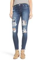 Blank NYC Women's Blanknyc Destroyed Skinny Jeans