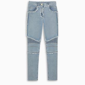 Balmain Patchwork skinny jeans