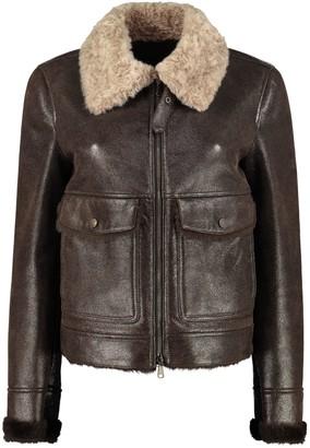 Brunello Cucinelli Sheepskin Short Jacket
