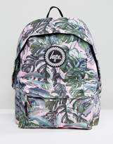 Hype Pastel Garden Palm Print Backpack