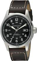 Hamilton Men's H70625533 Khaki Officers Automatic Watch