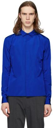 Haider Ackermann Blue Commodore Shirt