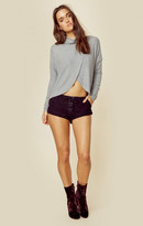 Blue Life comfy cross over sweater