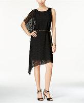 Thalia Sodi Asymmetrical A-Line Dress