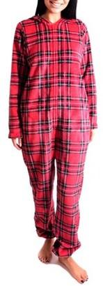Body Candy Women's Tartan Plaid Print Union Suit