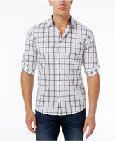 Michael Kors Men's Slim-Fit Roll-Sleeve Cotton Shirt