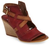 Miz Mooz Women's Kipling Perforated Sandal