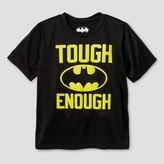 Champion Batman Boys' Active Graphic T-Shirt - Black