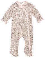 Little Me Baby Girls Newborn-9 Months Leopard Footie Pajamas