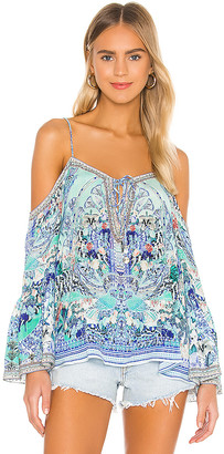 Camilla Drop Shoulder Top