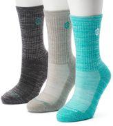 Free Country Women's 3-pk. Marled Wool-Blend Hiking Socks