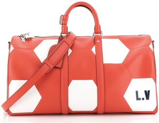 Louis Vuitton Keepall Bandouliere Bag Limited Edition FIFA World Cup Epi Leather 50