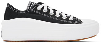 Converse Black Chuck Taylor All Star Move Ox Sneakers