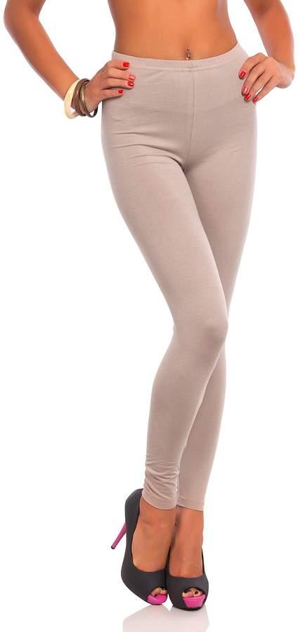 Futuro Fashion Women's Full Length Basic Cotton Solid Leggings Plus Sizes Ultra Soft Pants