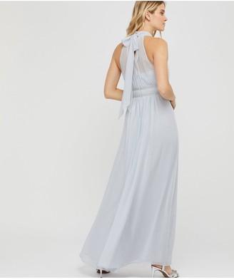 Monsoon Marion Halter Embellished Maxi Dress