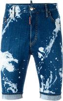 DSQUARED2 Mod bleached denim shorts