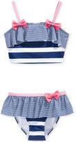 Penelope Mack 2-Pc. Betsey Striped Bikini Swimsuit, Toddler & Little Girls (2T-6X)