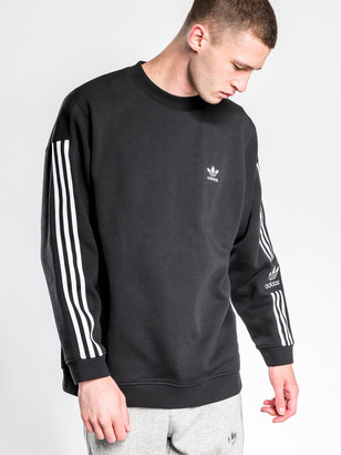 adidas Lock up Crew Jumper in Black