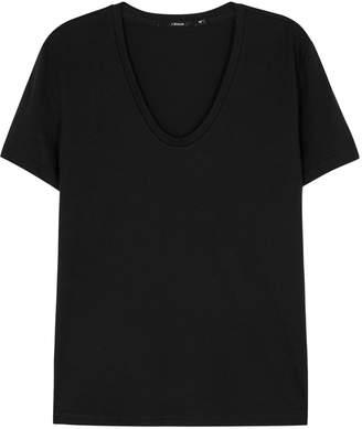 J Brand Johnny Black Pima Cotton T-shirt