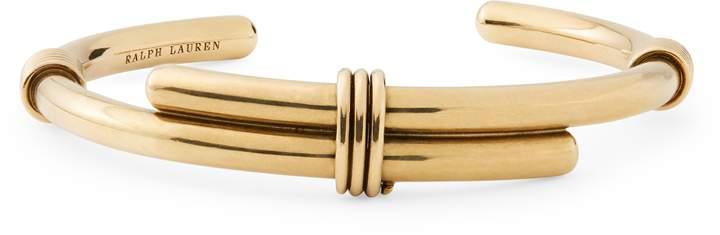 Ralph Lauren Gold-Plated Whip Cuff